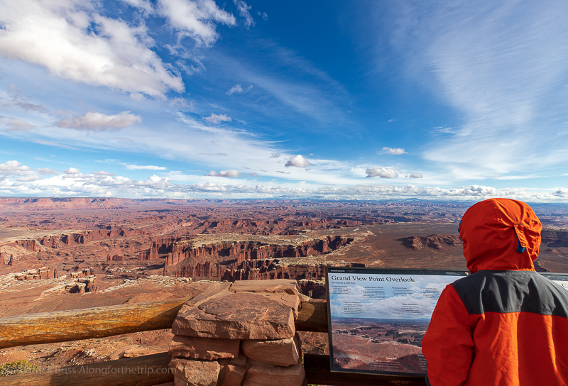 Canyonlands - five National Parks in Utah