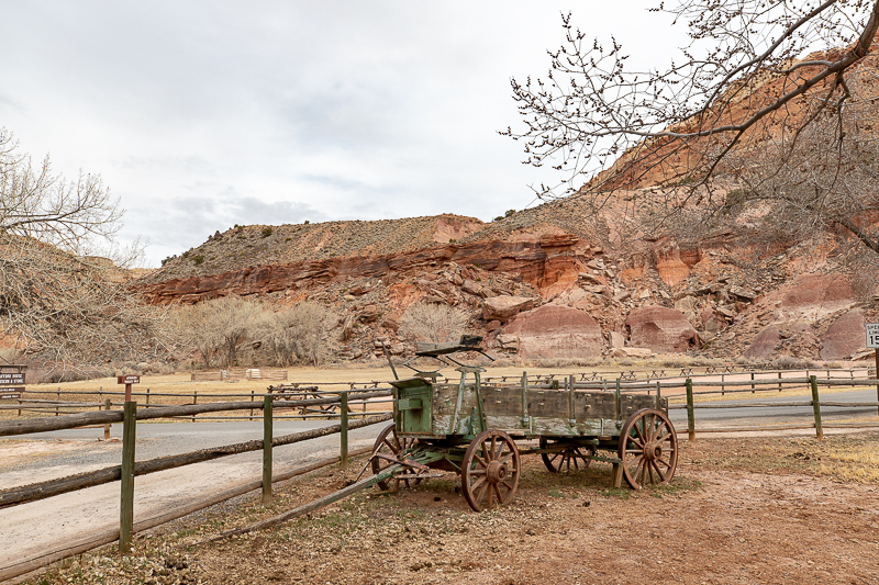 Pioneer history at Capitol Reef National Park
