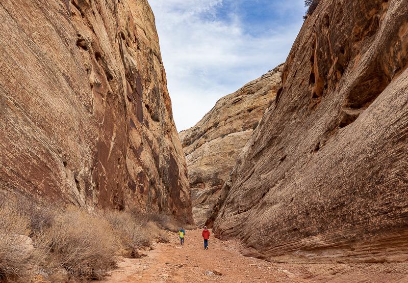 Hiking in Capitol Reef National Park - Big Five Utah