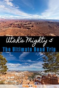 Utah Mighty Five National Park Road Trip