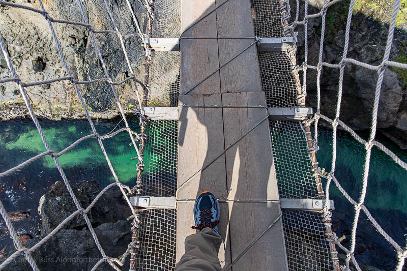 Carrick-a-Rede rope bridge - Antrim Coast Northern Ireland