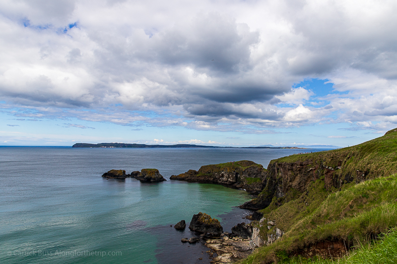 The Northern Ireland Coastal Route from Carrick Island