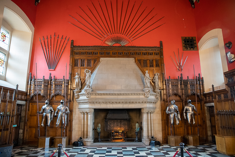 Places to see in Edinburgh - the Great Hall at Edinburgh Castle