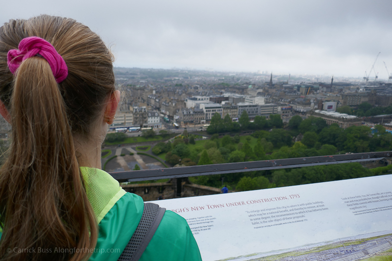 What to see in Edinburgh - views from Edinburgh Castle