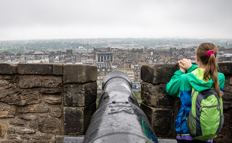 Edinburgh Castle - day trips out of London by train
