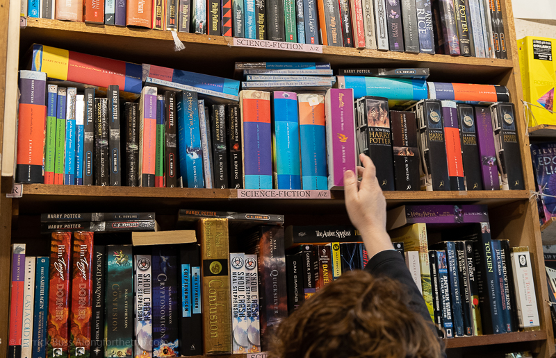 Find a local book shop - days out in Edinburgh