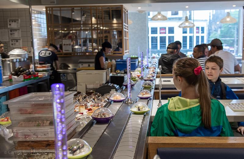 Yo! Sushi - places to eat in Edinburgh