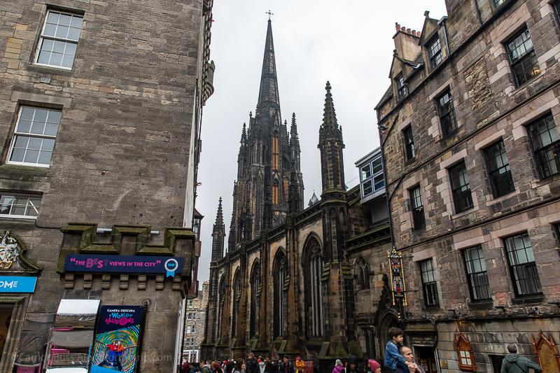A walk along the Royal Mile - Edinburgh what to see