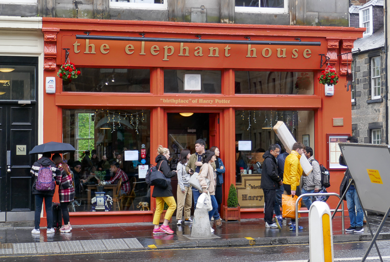 Stuff to do in Edinburgh - famous Harry Potter locations