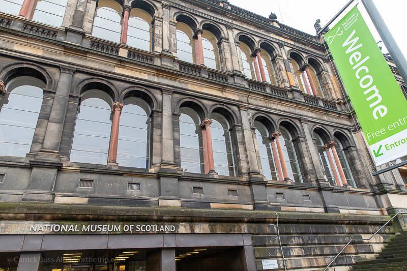 National Museum of Scotland - what to do in Edinburgh