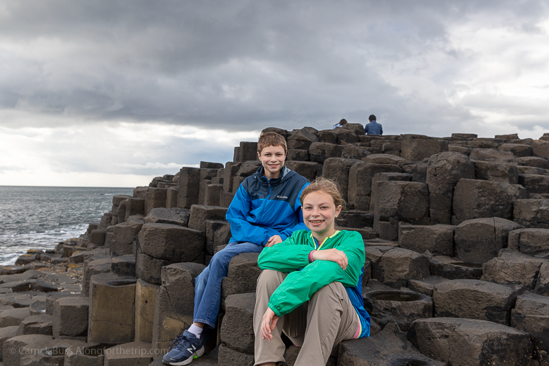 Giant's Causeway formations - Northern Ireland