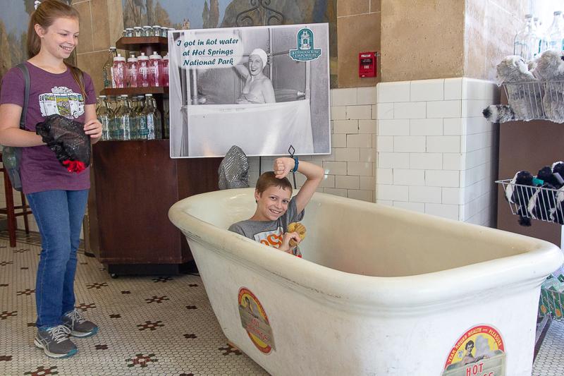 Visit Hot Springs Arkansas for the baths!