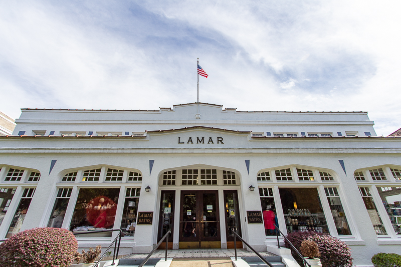 Lamar Bathhouse at Hot Springs National Park
