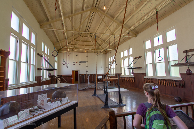 Fordyce Bathhouse gym