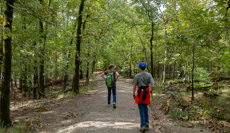 Hot Springs National Park hiking