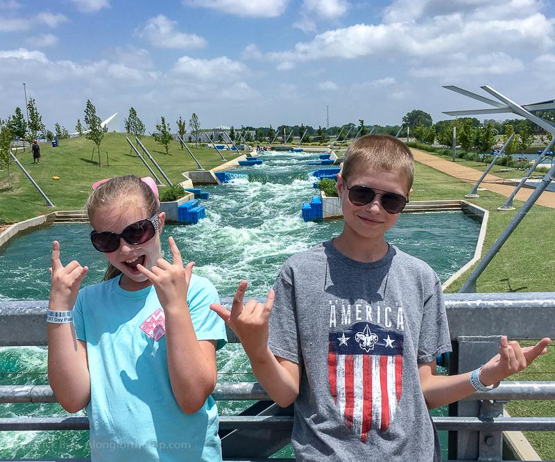 Rafting at Riversport OKC