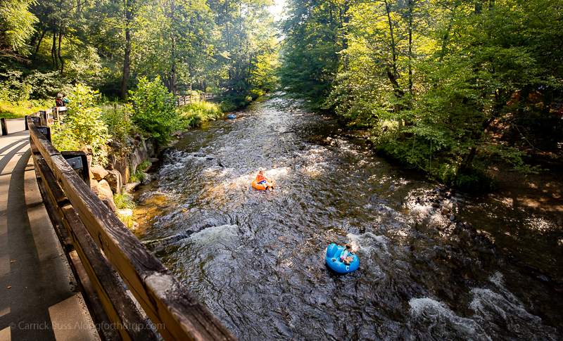 Go tubing - what to do Great Smoky Mountains National Park