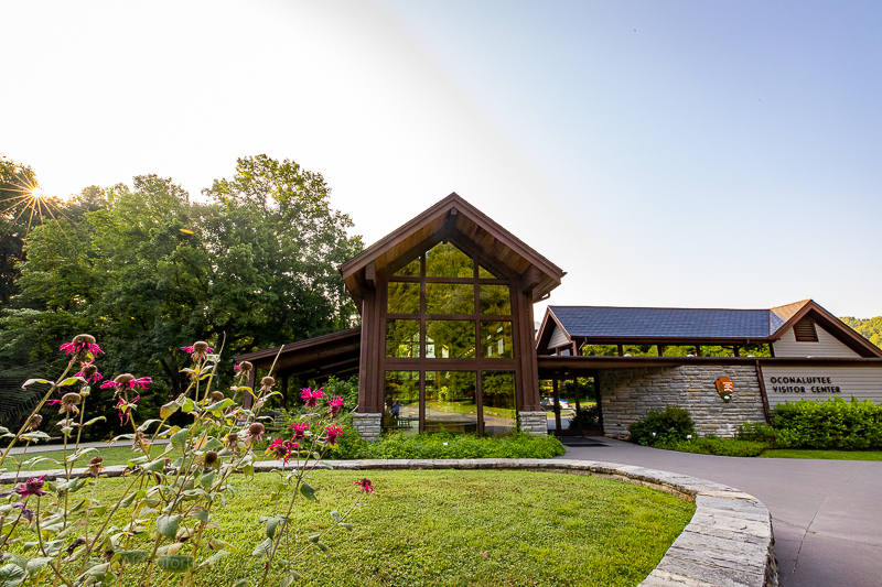 Great Smoky Mountains National Park visitor center - Oconaluftee