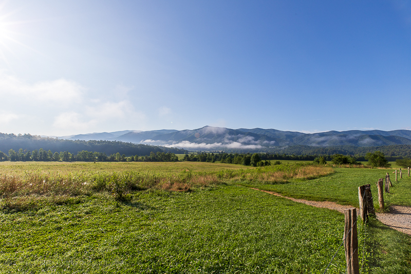 Great Smoky Mountains National Park TN - Cades Cove