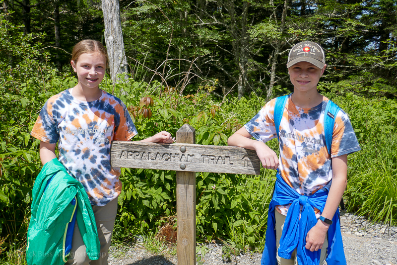 Appalachian Trail - places to visit in Great Smoky Mountains National Park