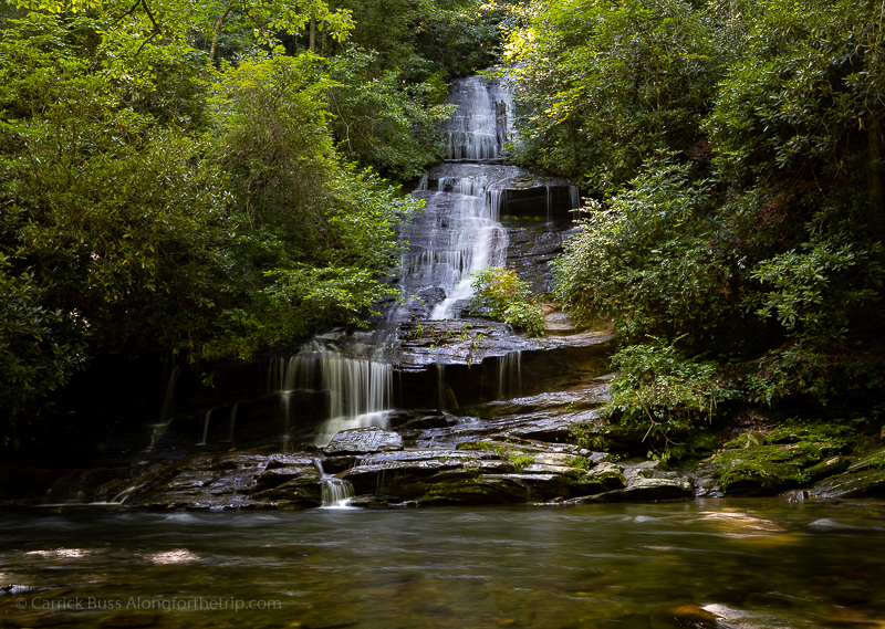 Toms Branch Falls - Great Smoky Mountains National Park