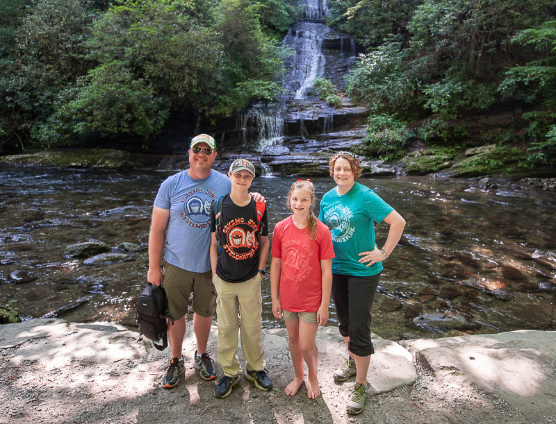 what to do in Great Smoky Mountains National Park - Toms Branch Falls