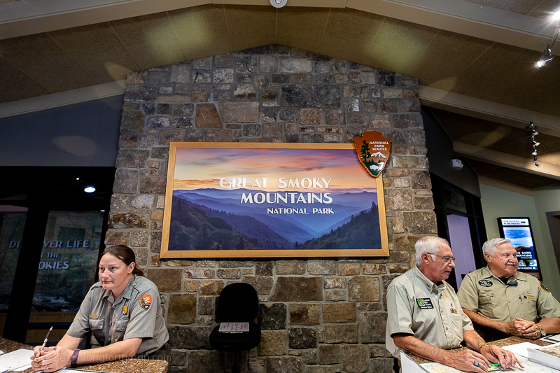 Visitor Center at Great Smoky Mountains National Park