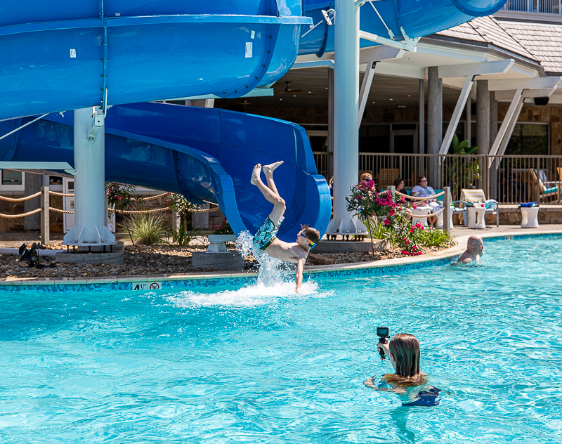 Margaritaville Resort Gatlinburg water slide
