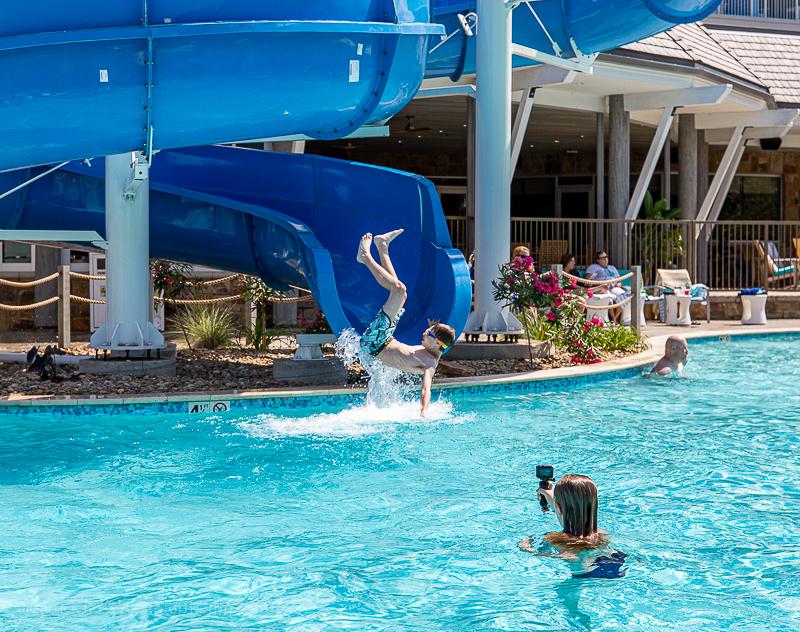 Margaritaville Resort Gatlinburg water slide