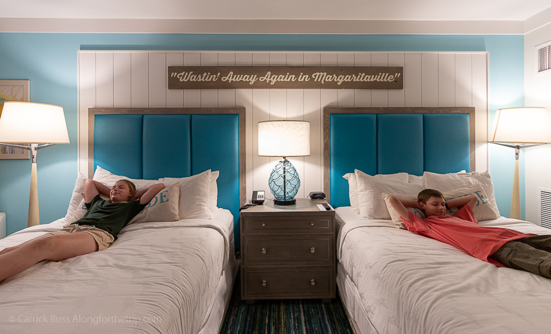 Margaritaville Resort Gatlinburg double queen room