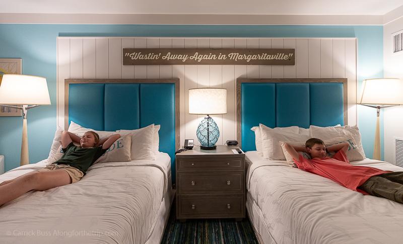 Margaritaville Resort Gatlinburg double queen room