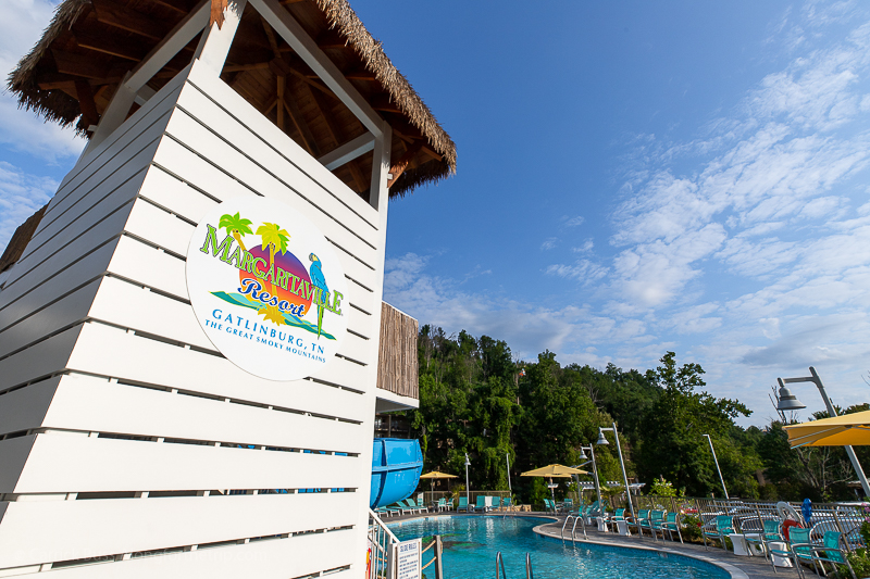 Margaritaville Resort Gatlinburg swimming pool