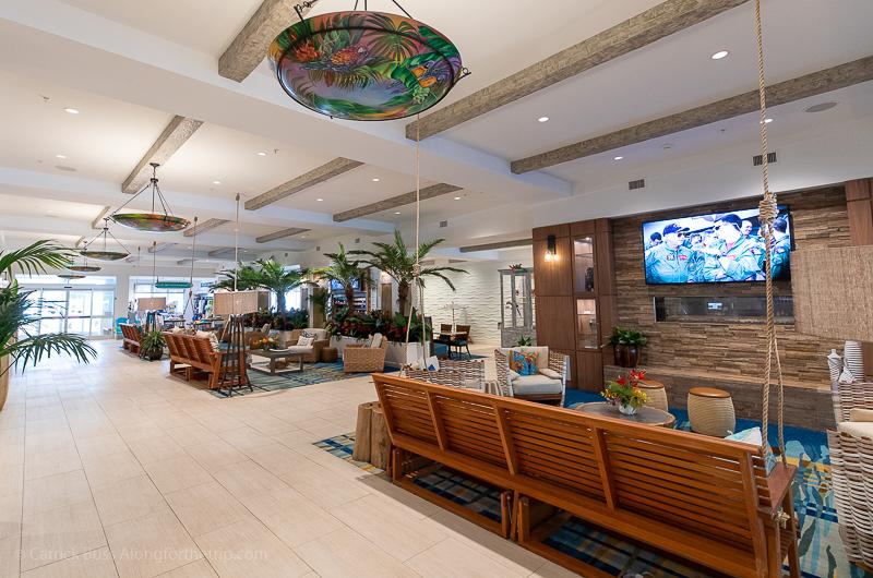 Margaritaville Resort Gatlinburg seating area
