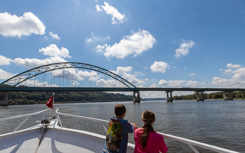 Take a cruise on the Mississippi with American Lady Cruises