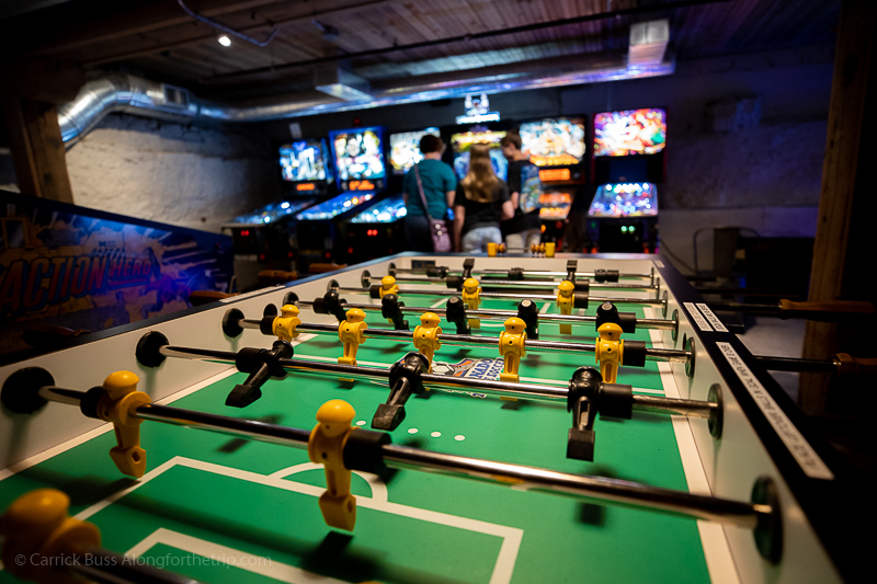 Retro arcade - things to do in Dubuque Iowa