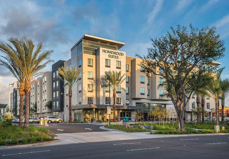 Disneyland hotel suites at Homewood Suites Anaheim