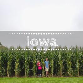 Family travel US Iowa with kids