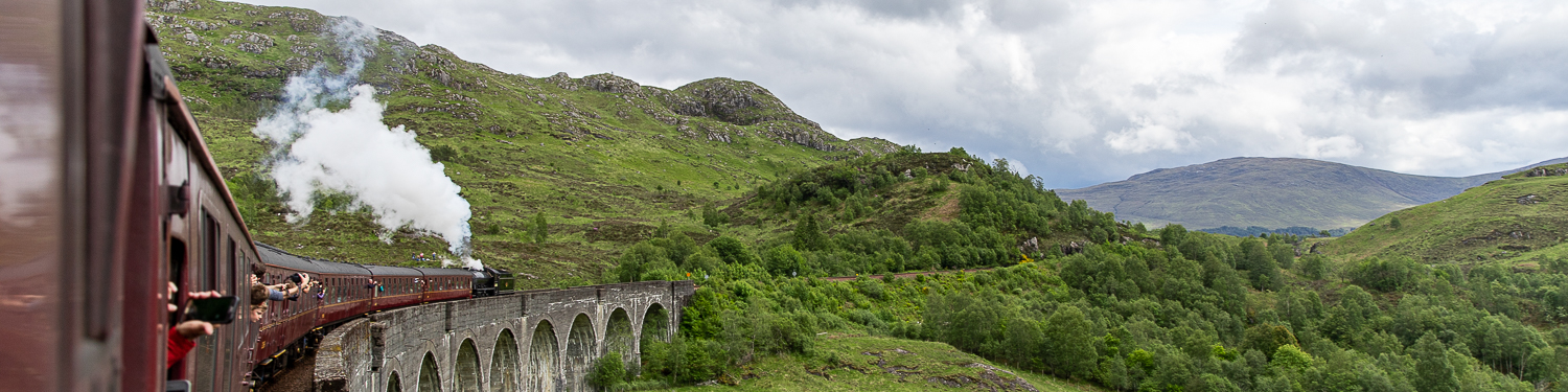 Riding Scotland's Harry Potter Train – an HP fan's dream!