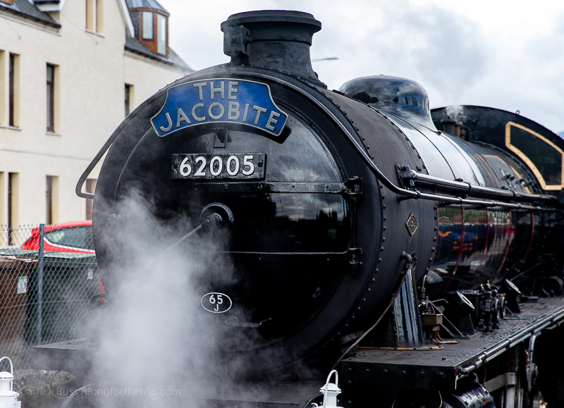 Harry Potter Steam Train at Fort William Station