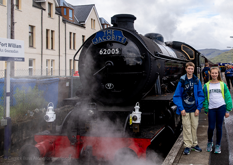 Jacobite Harry Potter Train in Scotland