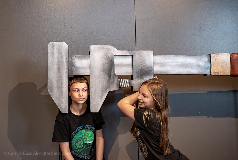 The National Mississippi River Museum & Aquarium in Dubuque Iowa