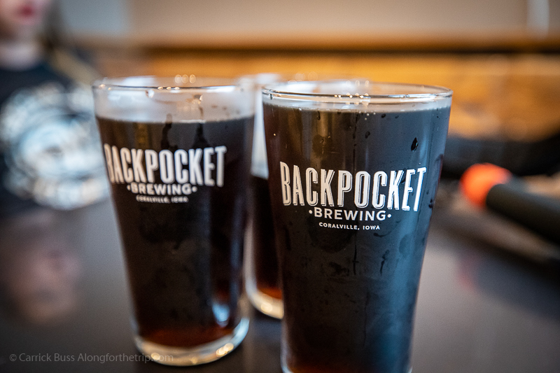 Craft root beer on tap from Backpocket Taproom - Novelty Iron Works