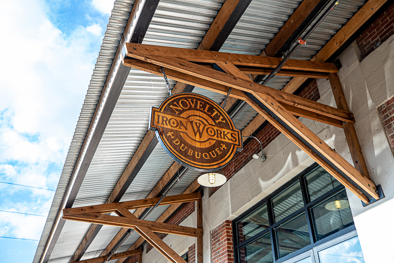 Novelty Iron Works Hotel in Dubuque's Millwork District