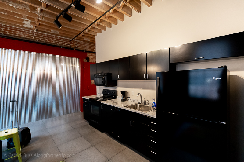 Full kitchen suite at Novelty Iron Works