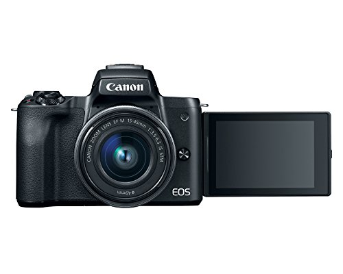 Canon M50 mirrorless DSLR - canon travel camera