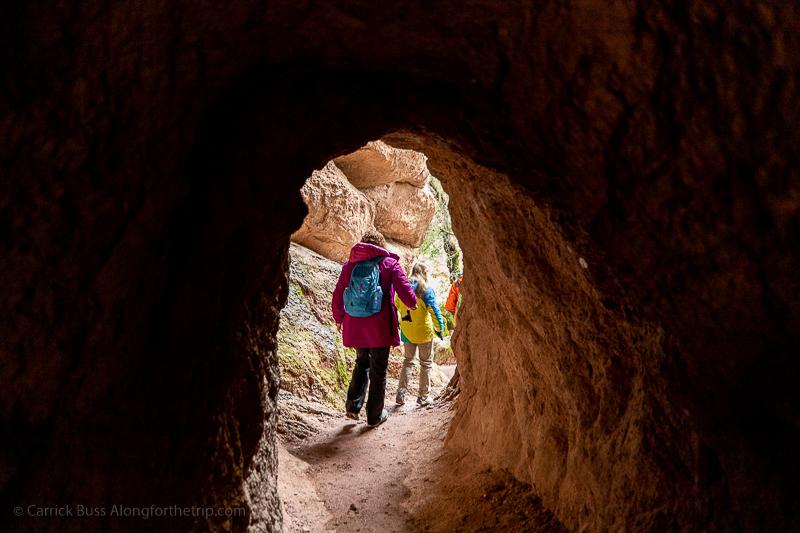 Pinnacles National Park caves