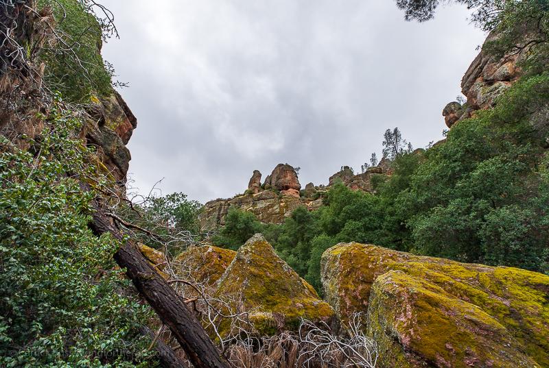 Viewpoint at Pinnacles NP