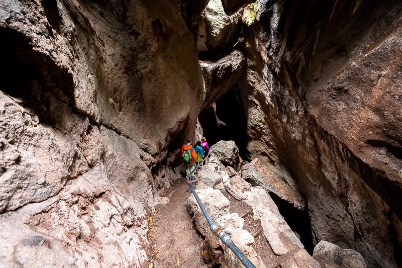 Exploring the Talus Caves at Pinnacles NP