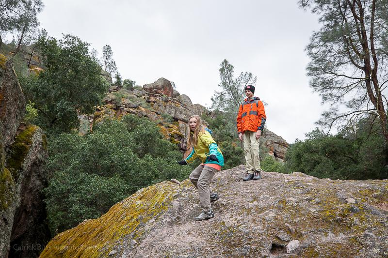 Pinnacles National Park climbing