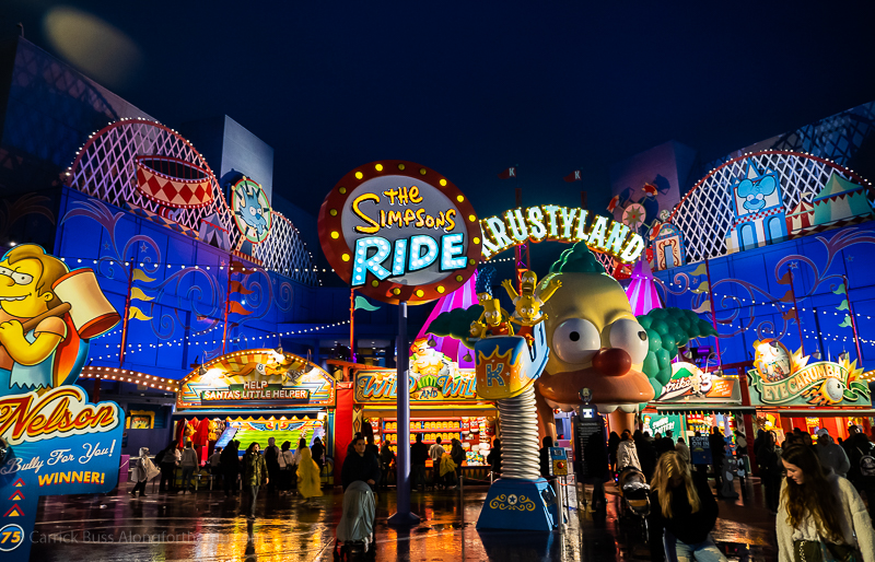 The Simpsons Ride - best rides in Universal Studios Hollywood